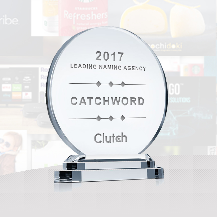 Catchword named top naming agency in the world 2017