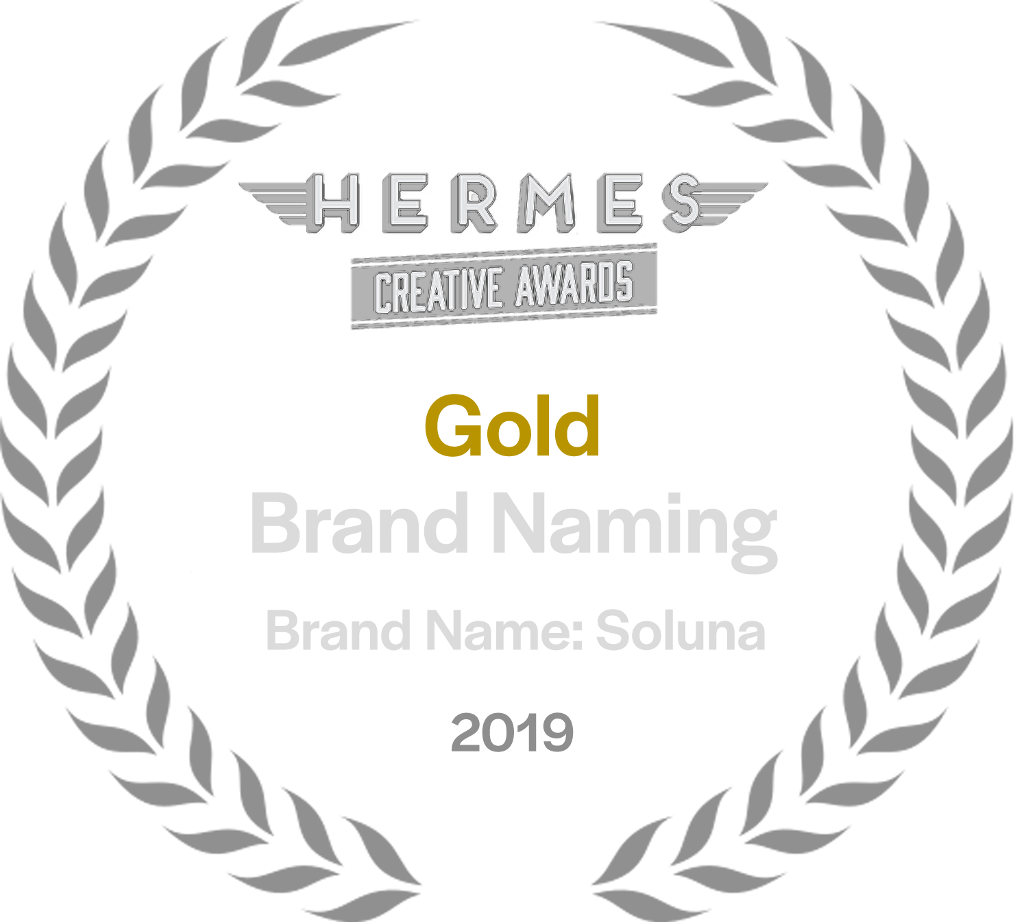 Hermes Creative Awards Gold Award Winner in Naming